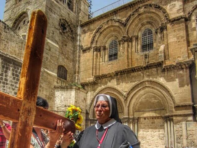 tour to jerusalem via dolorosa