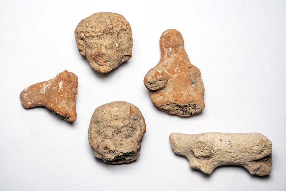 Biblical-figurines-from-south-jerusalem-excavations-yaniv-berman-IAA