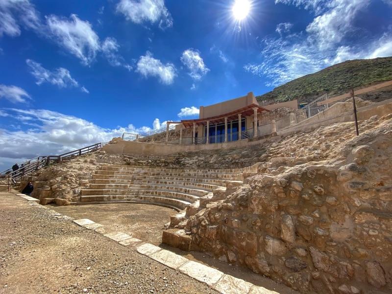 Herodium theatre