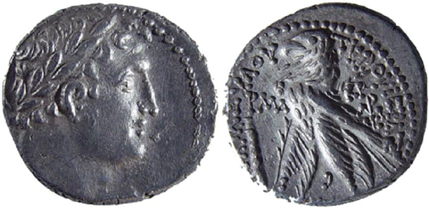 NT coins Tyrian Shekel 144