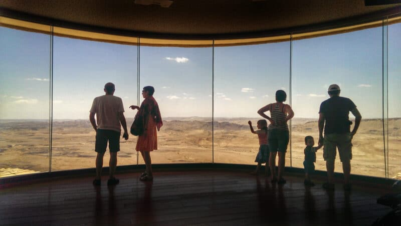 Ramon-crater-visitors-center