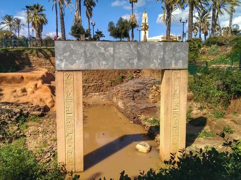 Ramses ii garden jaffa