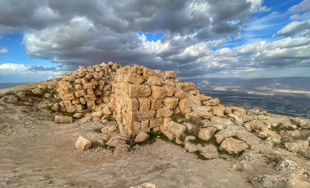 alexandrion-hasmonean-wall