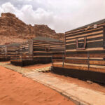 bedouin tents wadi rum