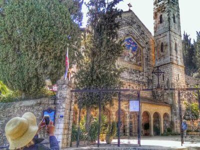 church of visitation ein karem