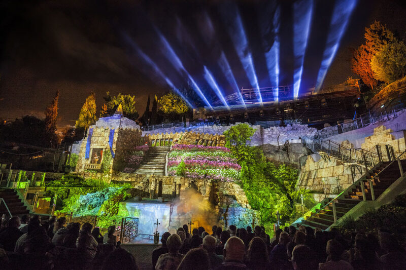 city-of-david-night-show