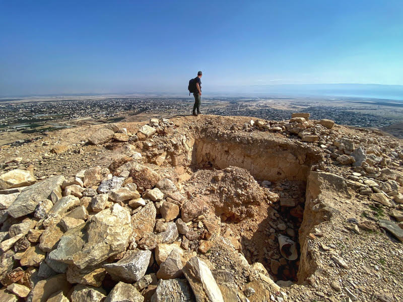 cypros view of jericho