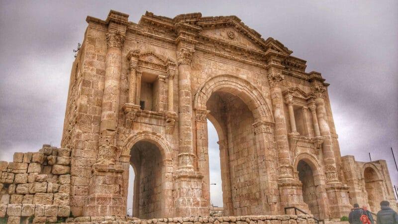 gerasa-triumphal-arch