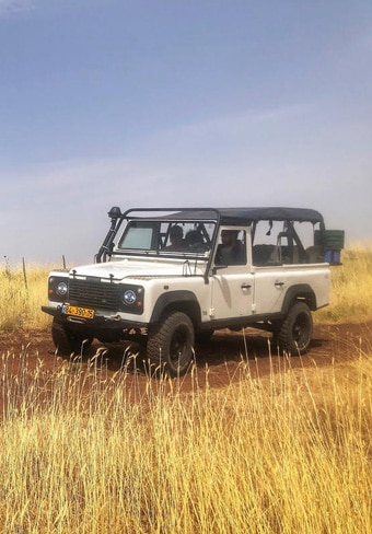 golan heights off road tour