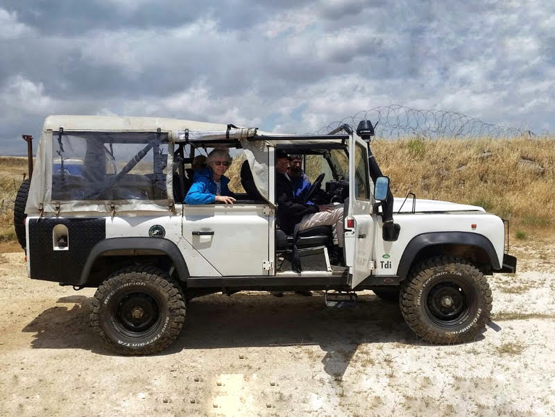 golan heights tour off road