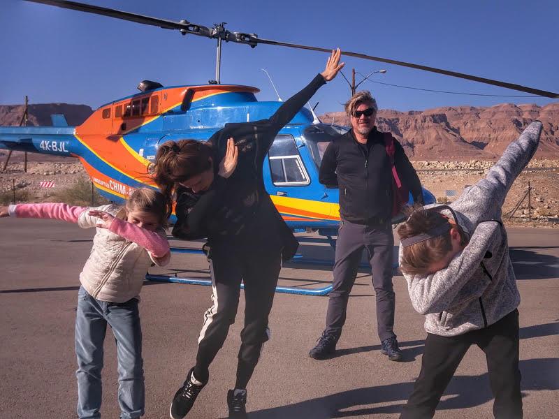 helicopter flight masada