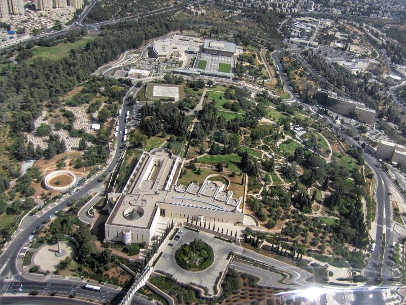 helicopter tour above jerusalem