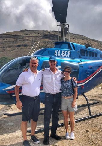 helicopter tour golan