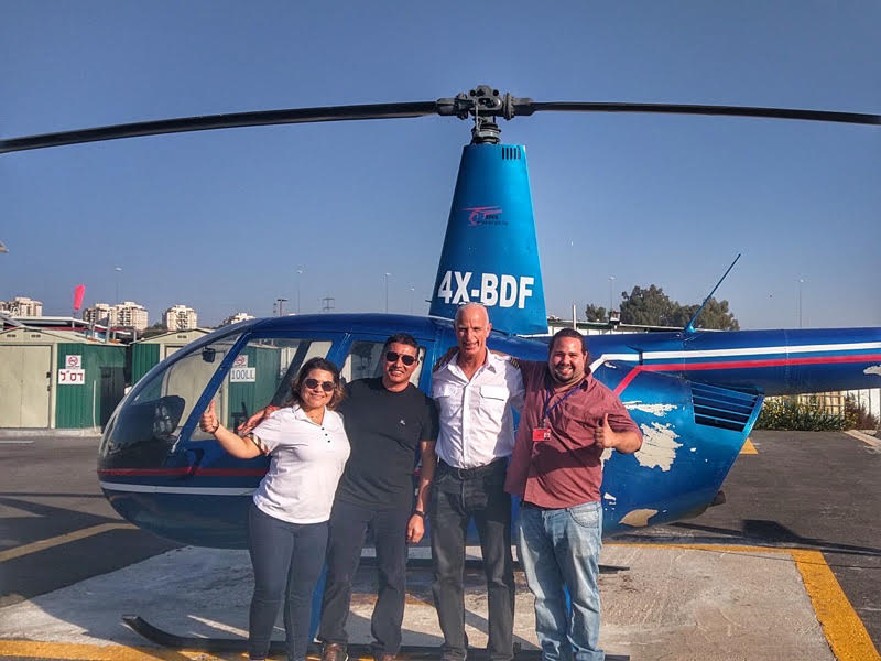 helicopter tour israel 3