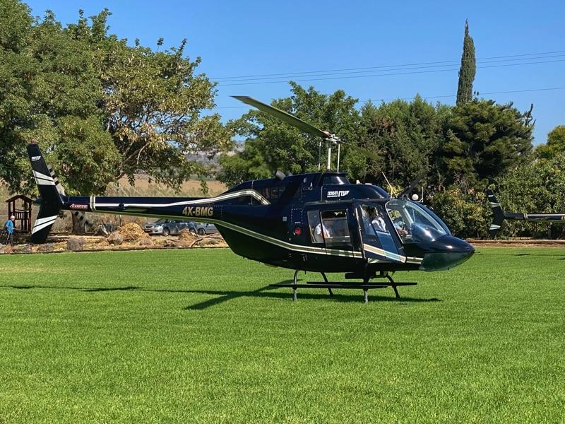 helicpter tour tiberias