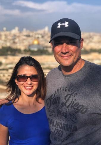 jerusalem tour couple