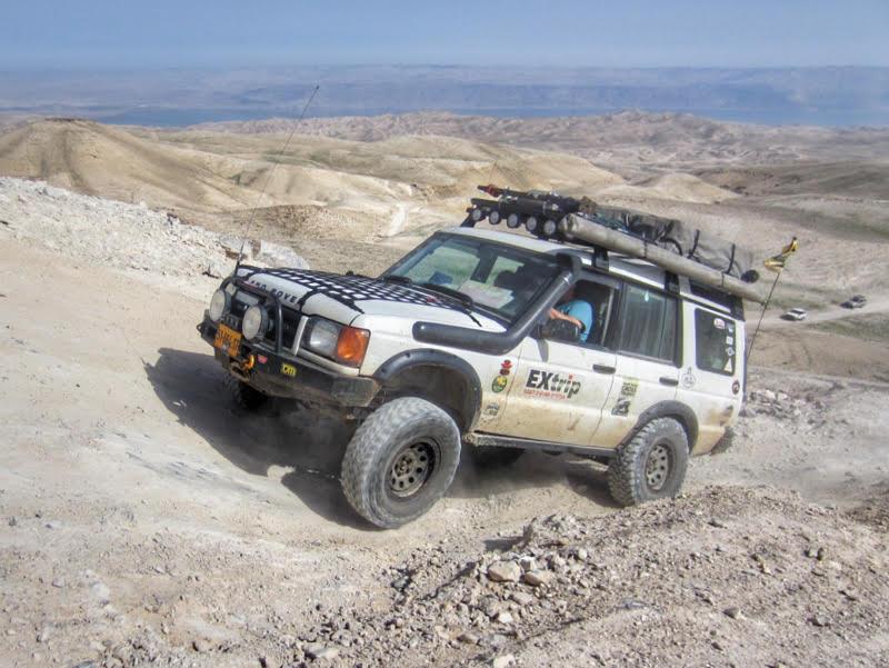 judean desert offroad