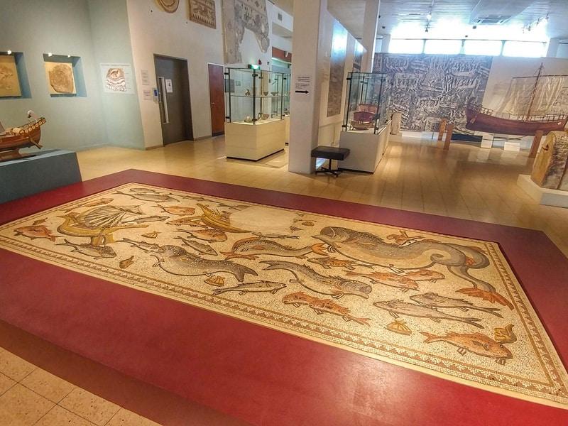 maritime-museum-haifa-lod-mosaic