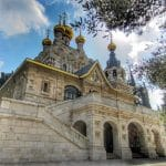 mary magdalene russian church jerusalem