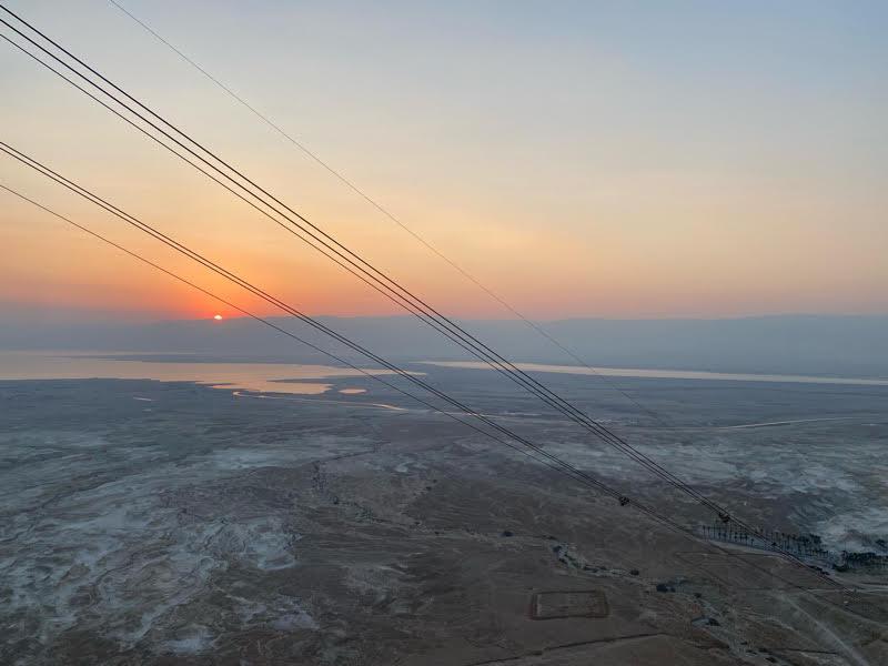 masada sunrise hike