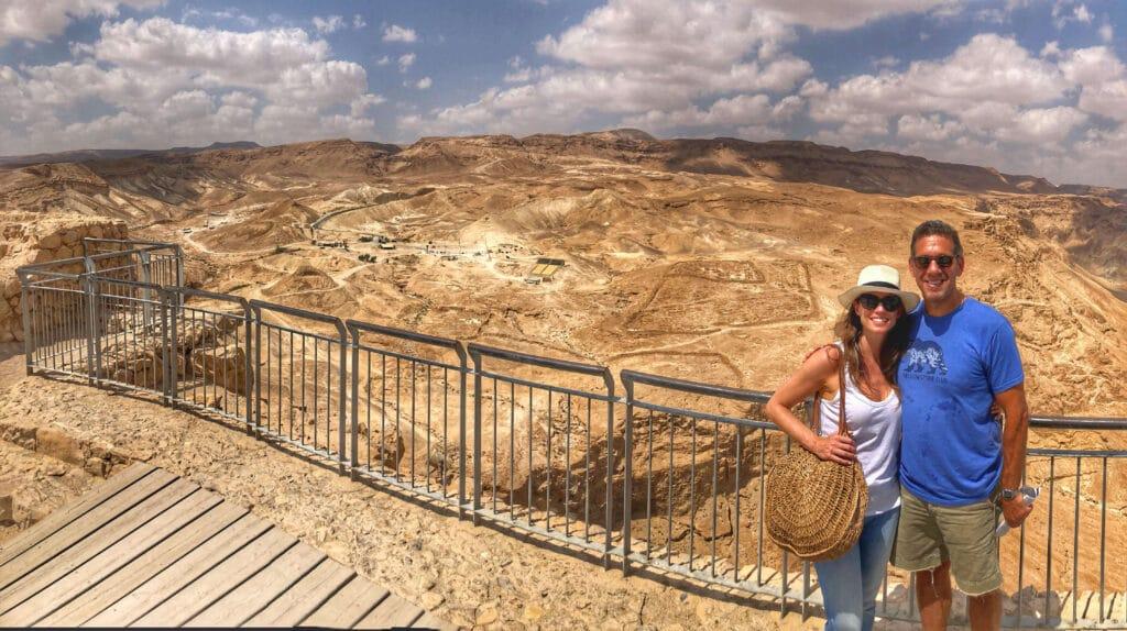 touring masada