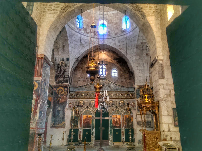 monastery of the cross church