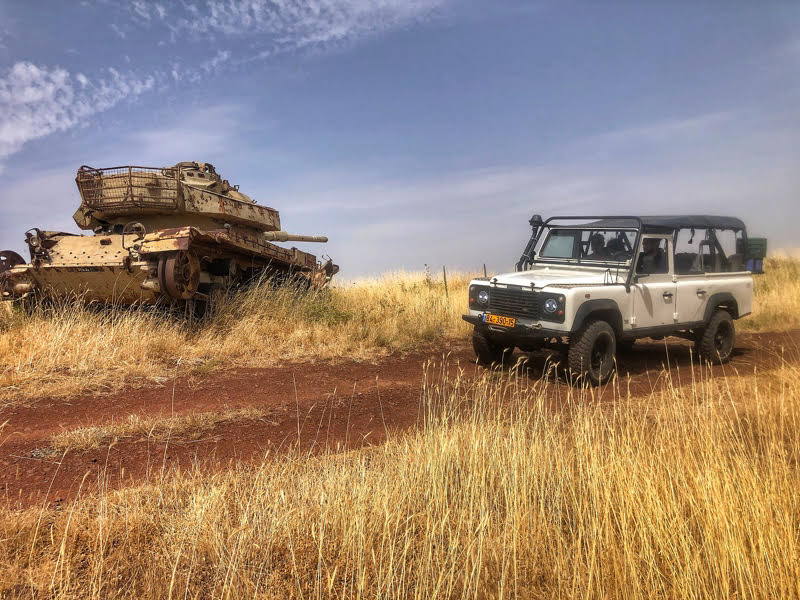 off road golan heights