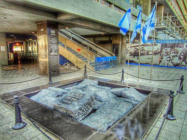 rabin-assasination-site