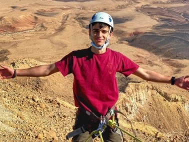 ramon crater rappeling f