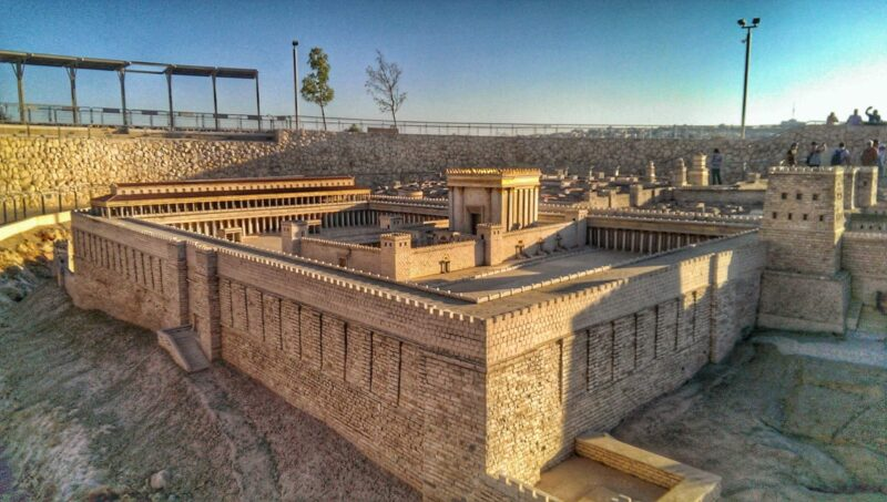 second-temple-model-israel-museum