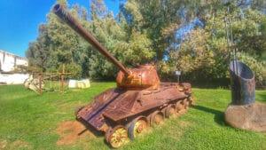 syrian-tank-kibbutz-dan
